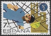 Spain SG2752 1984 Safety at Work 7p good/fine used